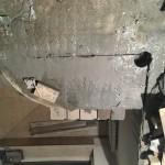 Демонтаж участка плиты