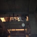Демонтаж части балки под устройство эскалатора