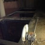 Демонтаж монолитной плиты перекрытия